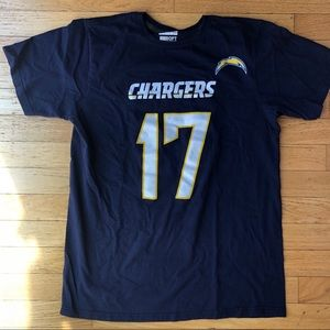 San Diego Chargers Philip Rivers Jersey T-Shirt